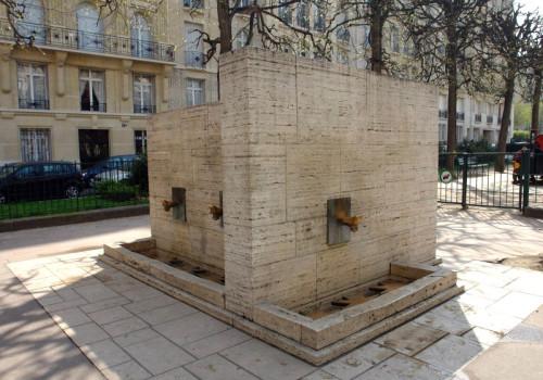 Agua diretamente da fonte em Paris